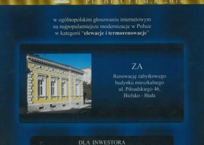 Dyplom 2014 - Piłsudskiego 46_2